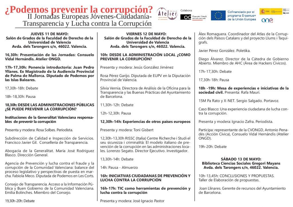 Programa II Jornadas Europeas