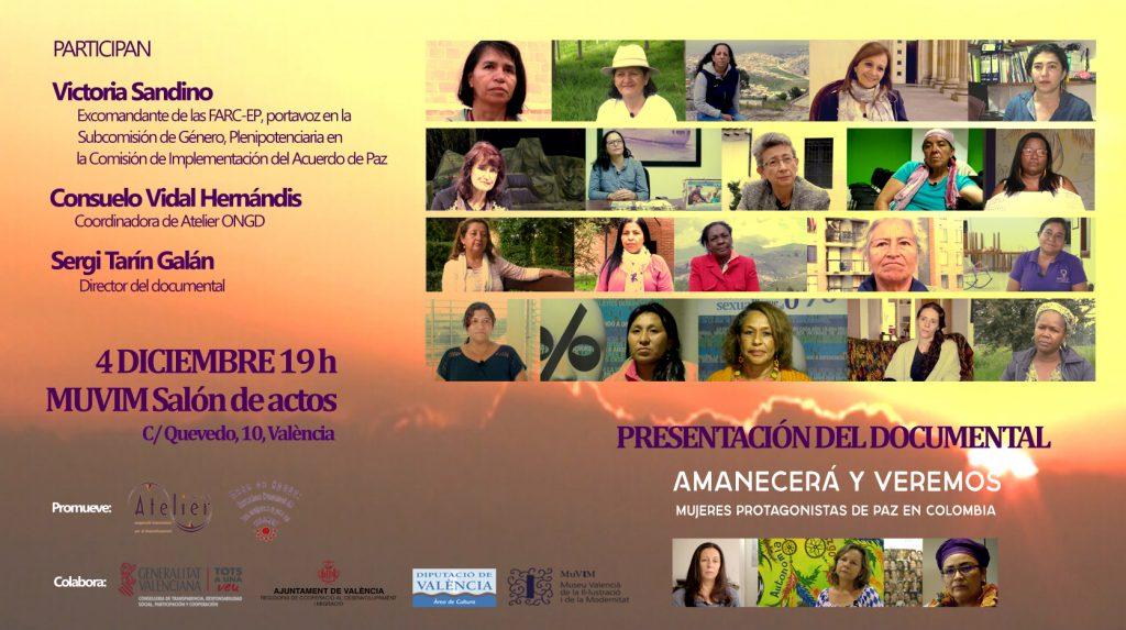 Presentamos el documental «Amanecerá y veremos. Mujeres protagonistas de paz en Colombia»