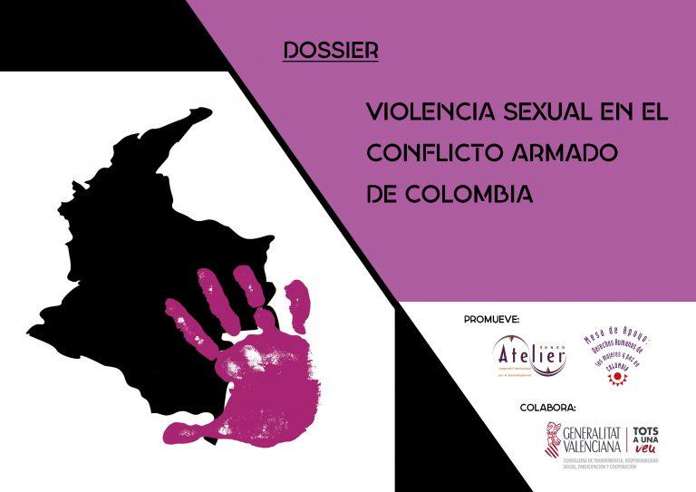 Publicamos el dossier «Violencia sexual en el conflicto armado de Colombia»