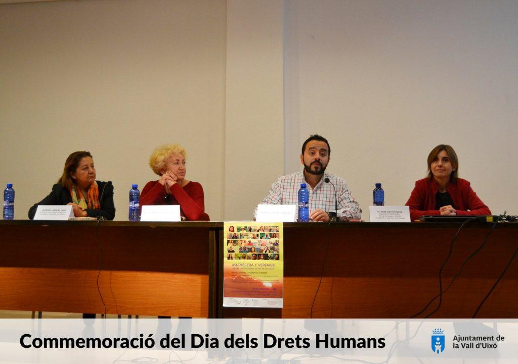 Conmemoramos el día de los Derechos Humanos con un acto en la Vall d'Uixò