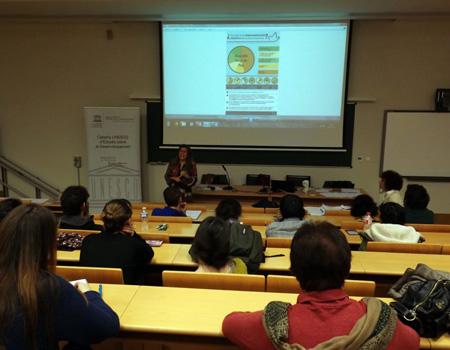 Participamos en el Ciclo Memoria y Paz de Cátedra UNESCO-Universitat de València