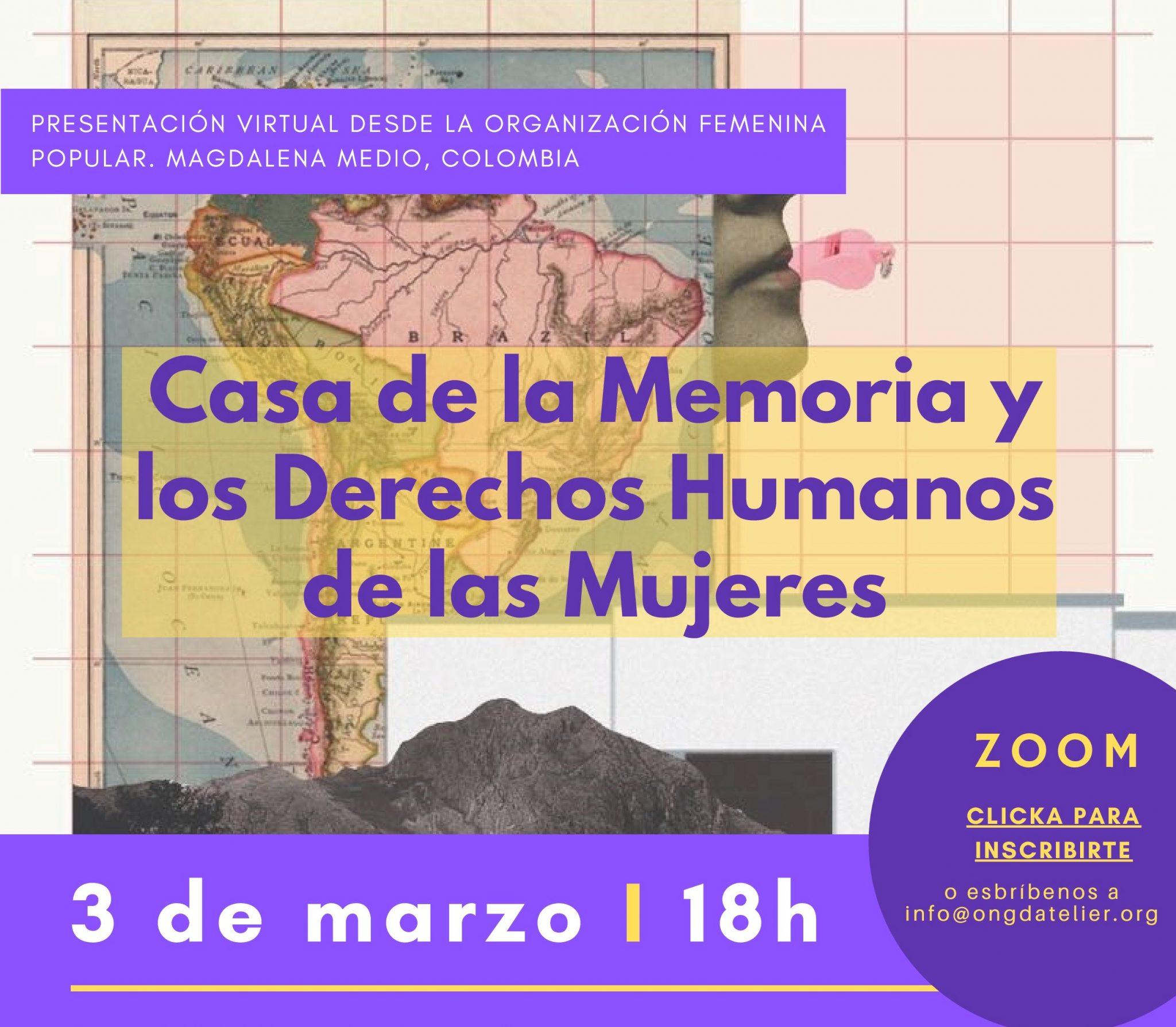 Casa de la memoria y los DD.HH. de las mujeres
